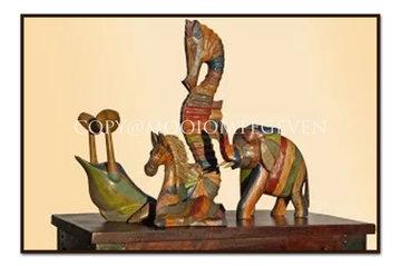 Houten Beelden & Sculpturen