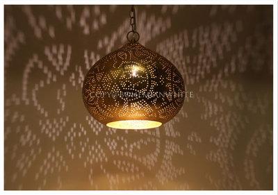 Filigrain hanglamp Varanasi goud