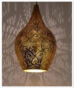 Filigrain hanglamp Pushkar goud