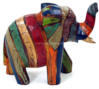 Olifant balsahout groot