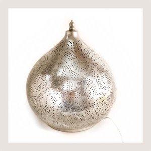 Filigrain tafellamp Jaipur zilver