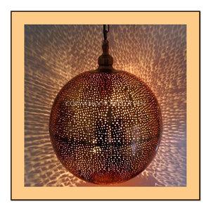 Filigraan hanglamp Surya koper